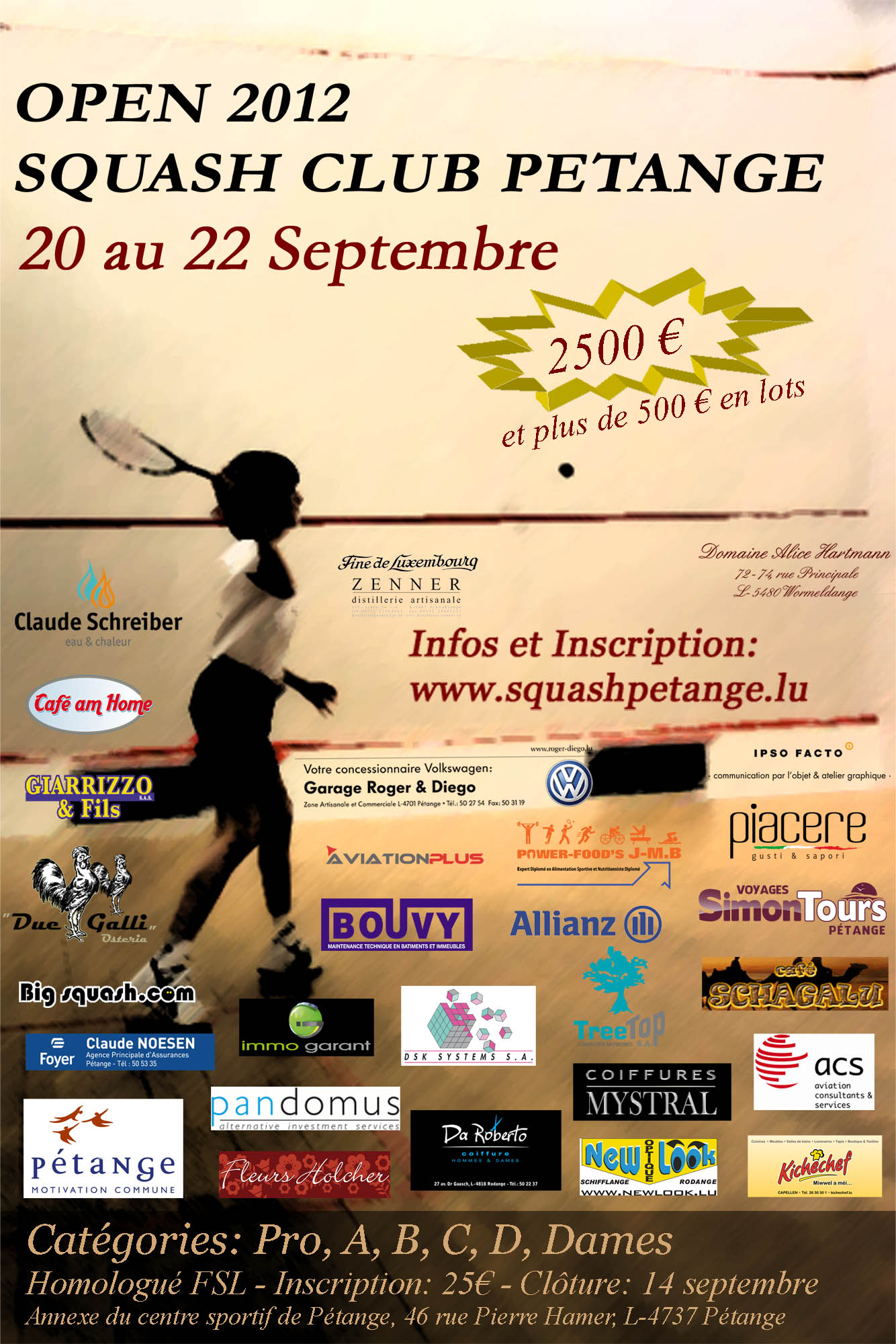 affiche tournoi petange 2012